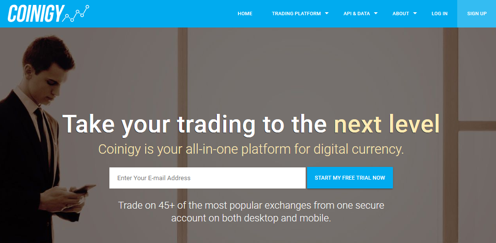 Coinigy Beste All-In-One Cryptocurrency Trading Platform!